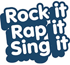 "Projektlogo ""Rock it,rap it,sing it"""